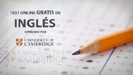 Test gratuito de inglés ofrecido por la Universidad de Cambridge