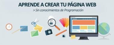 Crea tu página web sin código ni complicaciones